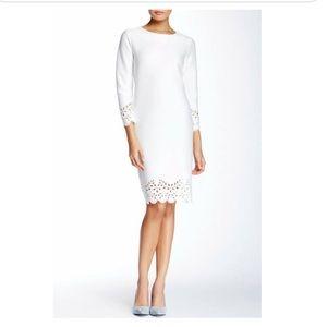Allen B. by Allen Schwartz Laser Cut Hem Dress
